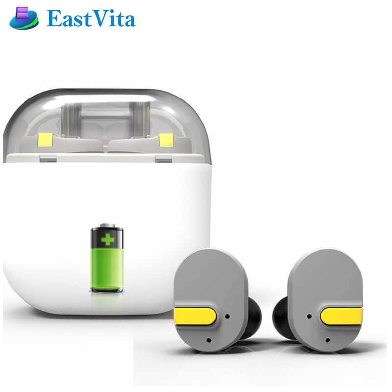EastVita i8 True Wireless Bluetooth Earphone Earbuds Double Twins Earphone for Smartphone IOS Android EJ02 r20