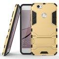 Телефон Случаях Для Huawei Nova Роскошные Механические Стиль 2 in1 PC Case For Huawei Nova Мобильный Телефон Задняя Крышка С держатель