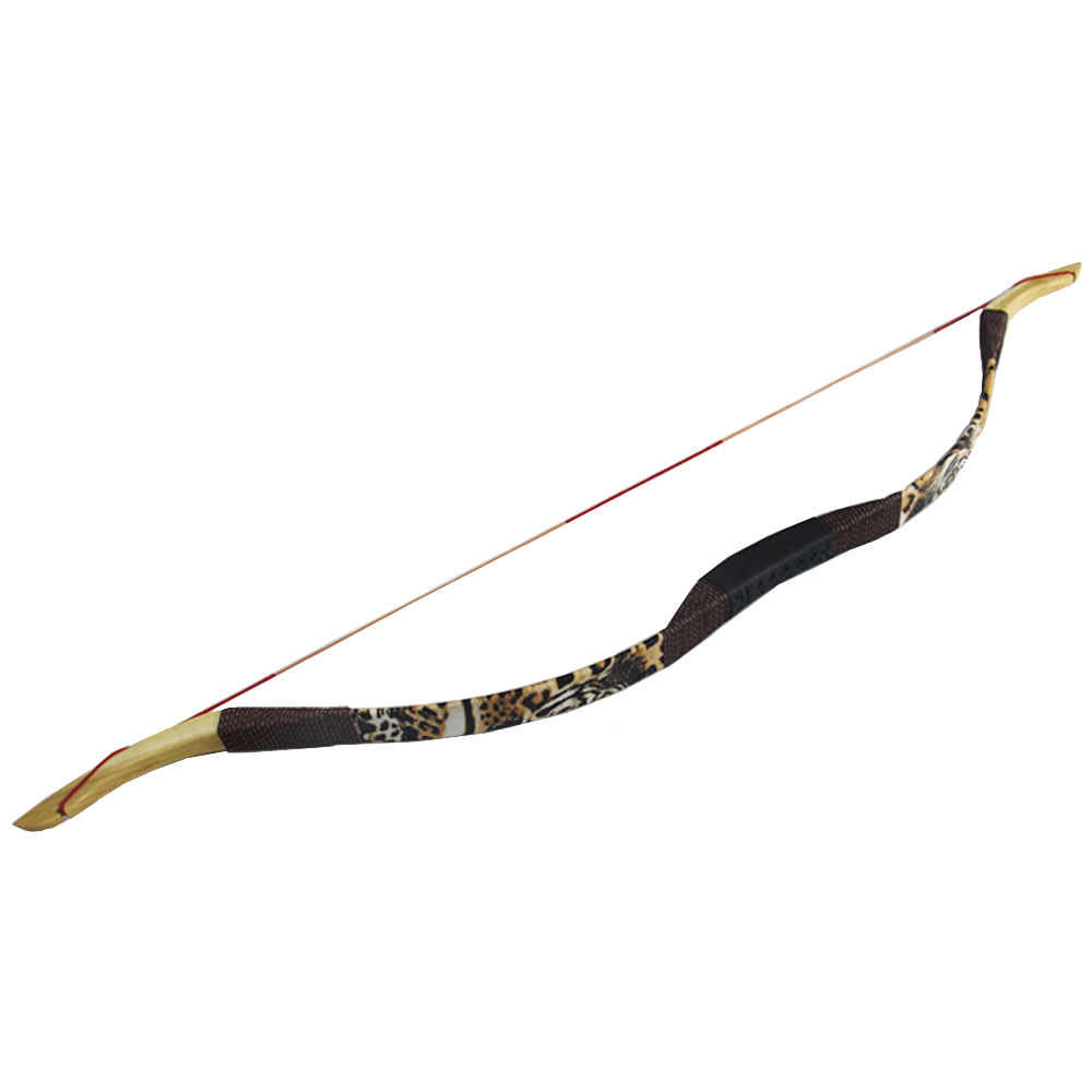 30LB Handmade Traditional Recurve Bow Traditional Archery Bow for Teenager Women Practice Hunting Beginner Random Shipping