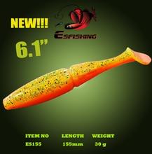 Esfishing NEW Easy Shiner 6.1″ Fishing Lure Soft 3pcs 155cm/30g Plastics baits China Swimbait  Leurre Trout Carp Crankbait