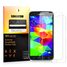 Ultra Thin 2.5D Round Edge Premium Tempered Glass Screen Protector For Samsung Galaxy S4 S5 S6 Anti-Explosion Scratch Proof