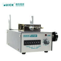 QUICK 60W 220V crack tin machine 375B+ automatic welding tin lead free soldering station by foot