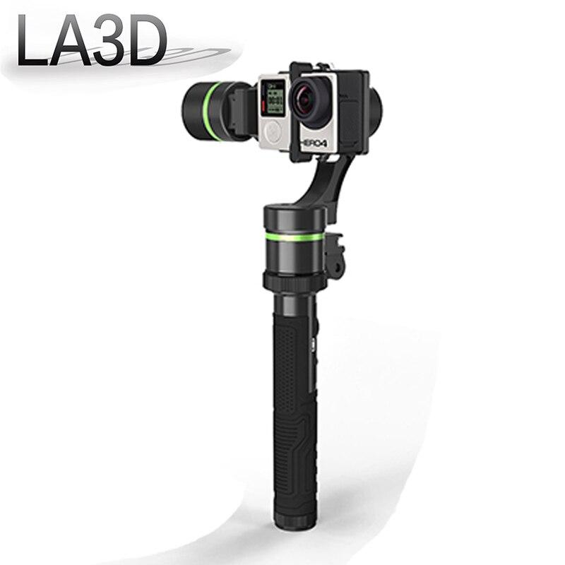 Lanparte LA3D чпу алюминиевый съемная 3 оси Hanheld кардан для Gopro Xiaoyi SJ5000 спорт камеры