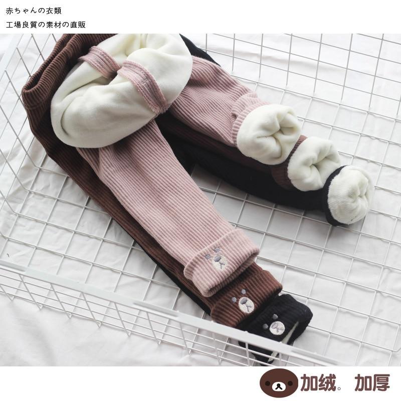 Reise schnecke leggings mädchen winter mädchen hosen pantalon nino mädchen leggings mädchen leggings kinder warme dünne 2018 winter Neue
