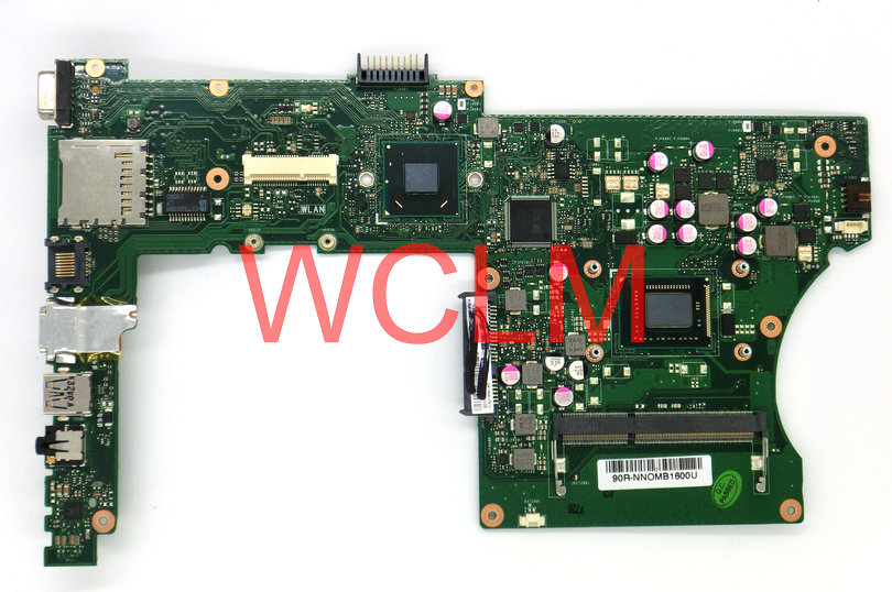 free shipping NEW original X501A X401A laptop motherboard MAIN BOARD mainboard REV 3.1 SR04L I3 CPU 90R-NNOMB1600U 100% Tested цена
