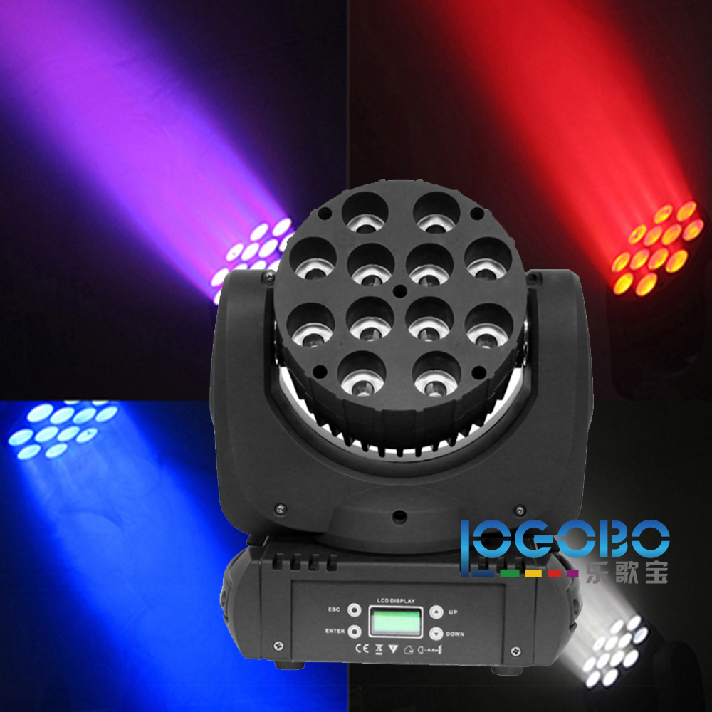 12x10 Watt RGBW 4in1 LED Moving Head Strahl Licht Cabeza <font><b>Movil</b></font> Led Strahlbewegungskopf <font><b>Mini</b></font> DJ Moving Head Lichter Intelligente beleuchtung image