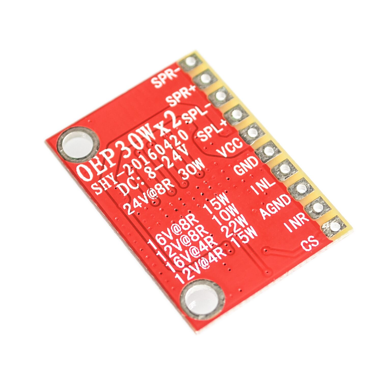 Oep30w2 Double Channel Digital Amplifier Board Module Diy 22w For 12v Power Supply Systems Aeproductgetsubject