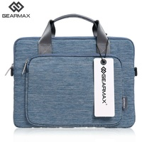 New Gearmax Notebook Bag Men Business Computer Bag 11 12 13 14 15 Nylon Handle Single