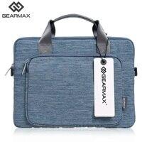 New Gearmax Notebook Bag Men Business Computer Bag 11 12 13 14 15 Nylon Handle Single