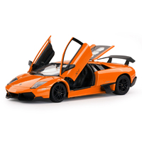 Rastar Die cast Toy Murcielago Car Model Original Diecasts Metal Vehicles 1:24 Collectible Toys Hobbies Children Birthday Gifts