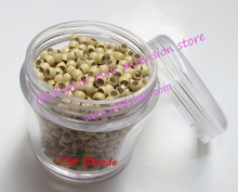 Hot sale 1000pcs bottle 2 9x1 6x2 0mm 13 Blonde Nano Rings with Silicone for Nano