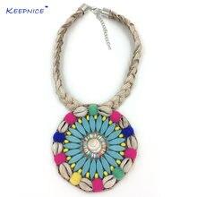 Женское Ожерелье чокер «Ловец снов» ювелирное изделие ручной