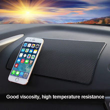 Car Pad Non Slip Sticky Anti Slide Dash Cell Phone Mount Holder Mat Car Dashboard Sticky Pad Adhesive Mat for Cell Phone GPS