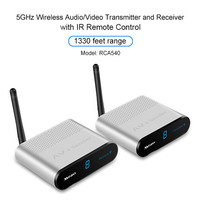 Measy 5 ГГц Беспроводной аудио/видео передатчик и приемник с ИК пульт Управление 1330 футов/400 м Диапазон
