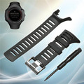 Top Selling Waterproof Soft Sport Strap Rubber Replacement WatchBand Strap Black For SUUNTO Ambit 3 PEAK/Ambit 1/2