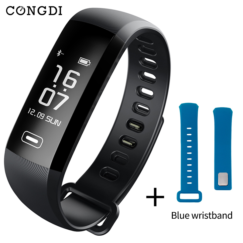 Original Condi R5MAX smart bracelet blood pressure heart rate monitor 50 Letter message push smart wristband for iphone Andriod retro heart letter k bracelet for women