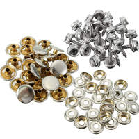 Excellent Quality Boat Marine Canvas Cover Snap Fasteners 5 8 Inch Screw Stud Button Socket Easy