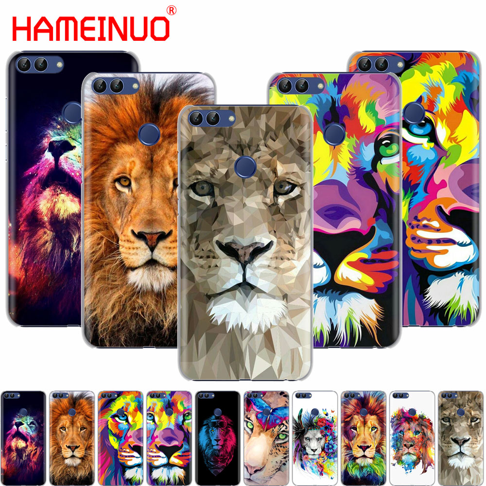 HAMEINUO Big Lion On Stone snow <font><b>cell</b></font> <font><b>phone</b></font> Cover Case for <font><b>huawei</b></font> Honor 7C Y625 Y635 <font><b>Y6</b></font> Y7 Y9 2017 2018 Prime