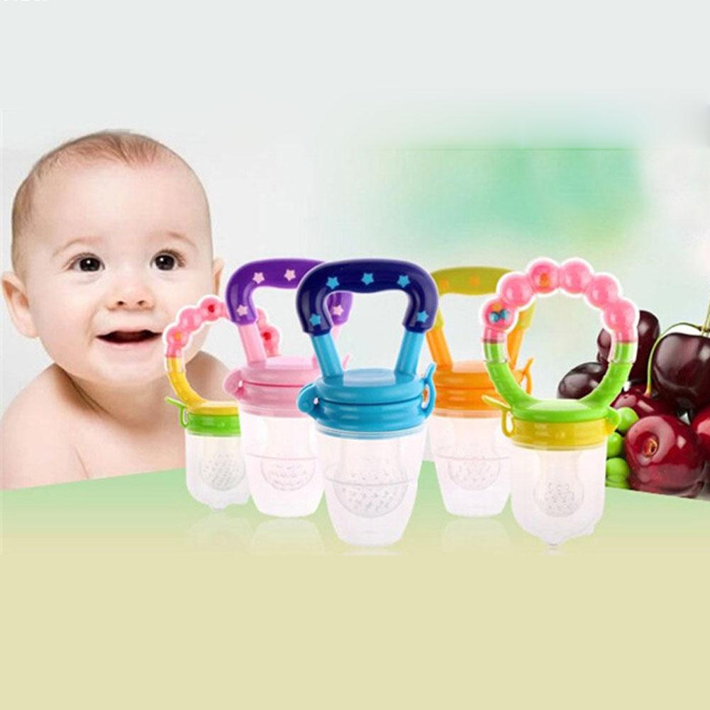 Baby products Infant Teether Baby Fruits And Vegetables Bite Bags Toddler Product Of Silicone Bags Baby Teether M35