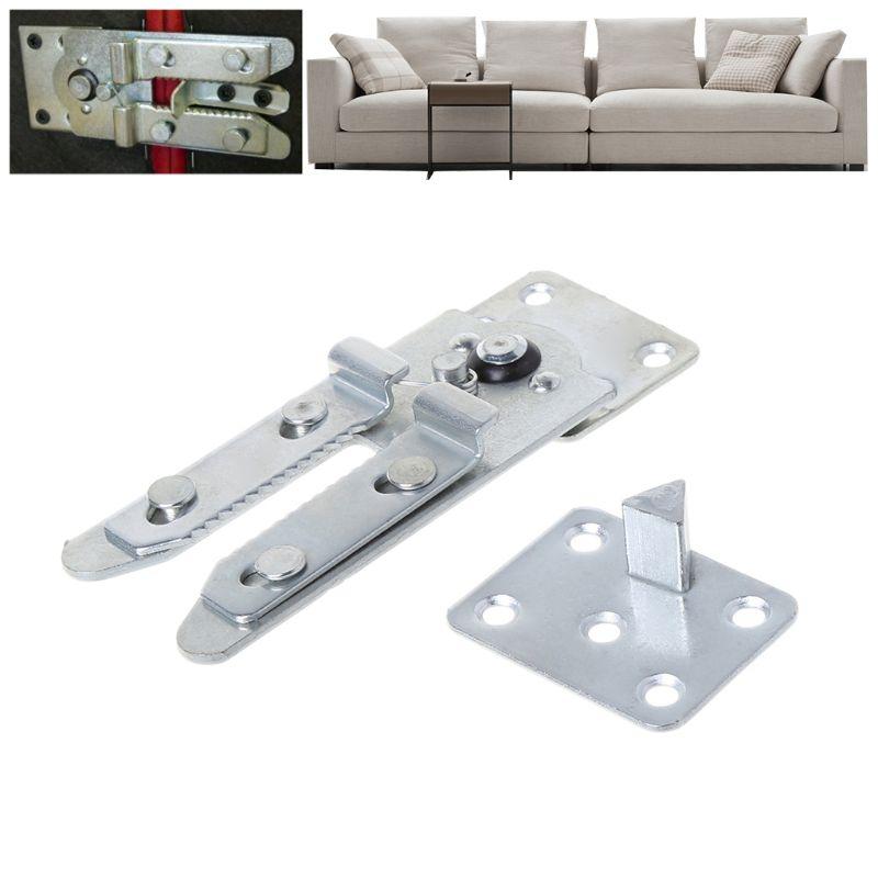 Sofa Hinge Hidden Bracket Functional Bed Holder Furniture Sectional Connector