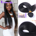 8A Fashion Plus Hair Peruvian Virgin Hair Peruvian Straight Virgin Hair Weave 3PCS Human Hair Bundles Tissage Cheveux Humain