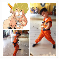 Halloween party Dragon Ball Z GoKu Cosplay Costume Kids dragonball wukong turtler cosplay Costume Performances Fancy Dress