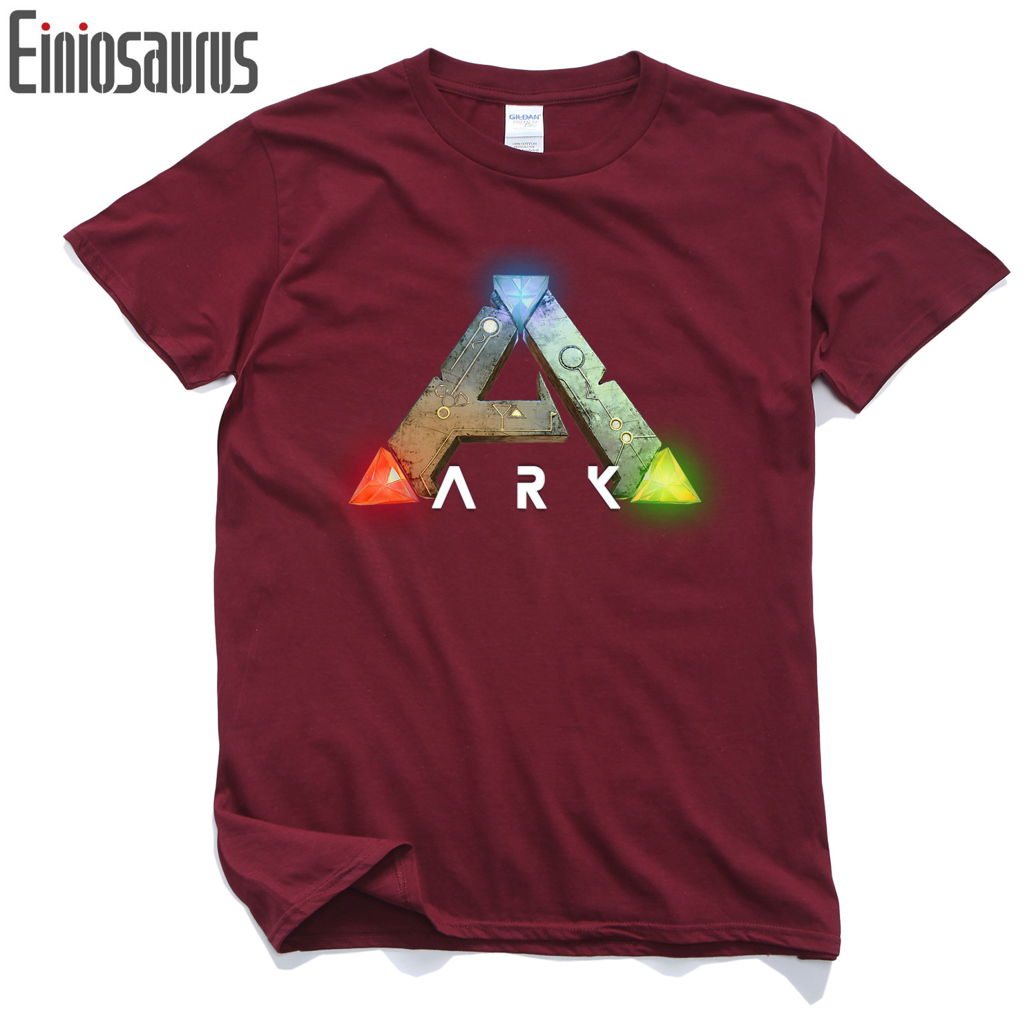 Ano survival evolved The ark survival evolution Pure cotton Round collar Mens short sleeve T-shirt 005 Video games