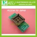 Бесплатная Доставка 1 шт. PLCC44 в DIP40 EZ Программист Разъема Адаптера в наличии