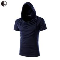 Brand New 2016 Fashion Men S Hooded T Shirt Design Tops Tees T Shirt Men Short