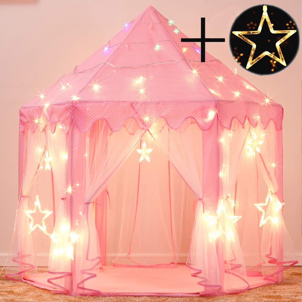 Children Tent Toy Ball Pool Girl Princess Pink Castle Tents Small Playhouses For Kids Portable Baby Outdoor Play Tent Ball Pit(China)