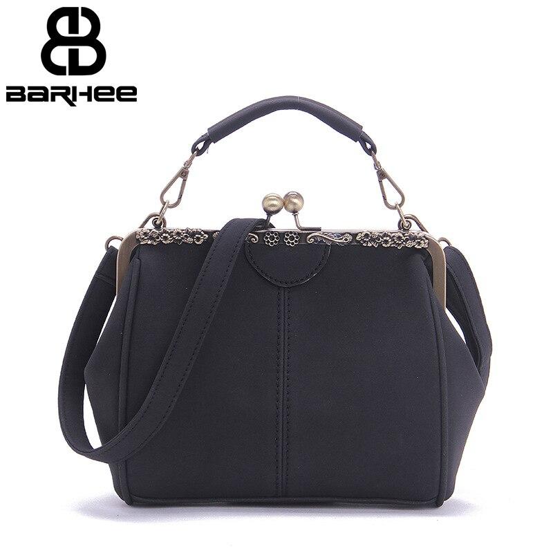 Barhee новые из искусственной замши Винтаж Для женщин сумки нубука корейский мода женский клип кадр сумка ПУ кожа небольшая сумка Bolsas