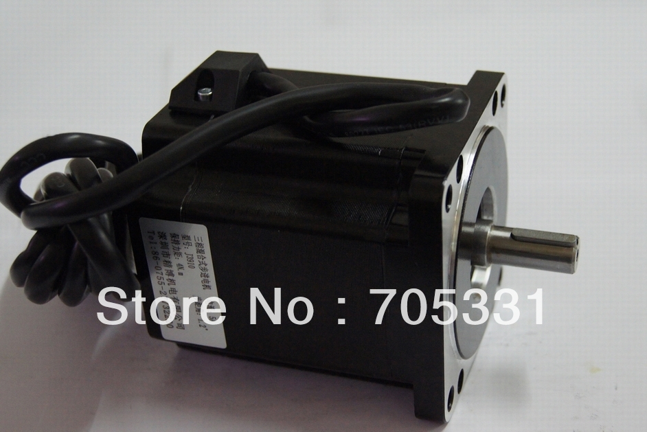 купить 4N.m size 86mm 3phase high torque hybrid stepping motor J3910 motor length 97mm по цене 4071.69 рублей