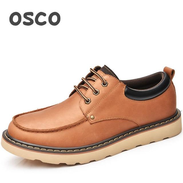 0425b270 Zapatos casuales de moda para hombre de toda la temporada de fábrica  directa OSCO # A3575