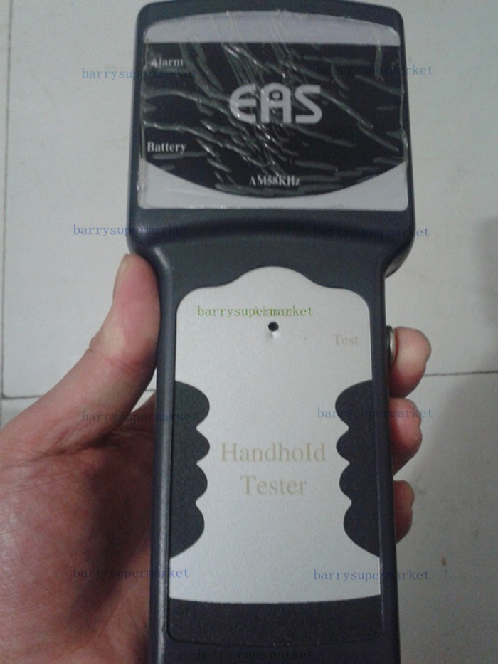 8.2mhz EAS RF handheld detector for tags&labels rf anti-theft tester Electronic goods anti - theft system