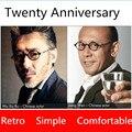 Retro aesthetic glasses frame men fashion eyeglasses frames men brand spectacles for myopia eyewear with original case