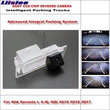 цена на Liislee Dynamic Guidance Rear Camera For KIA Sorento L 2.4L GDi 2015 2016 2017 HD 860 * 576 Pixels Parking Intelligentized