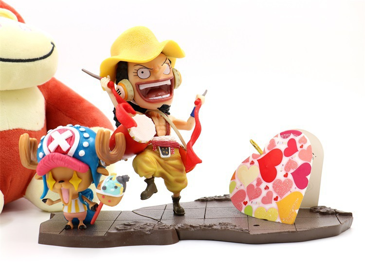 In Industrious One Piece Spring Festival Ver Chopper Action Figure 1/8 Scale Painted Figure Lion Dancing Usopp Pvc Figure Toys Brinquedos Superior Quality