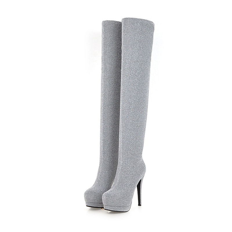 Womens Boot 2019 Winter Warm Plush Thigh High Boots For Woman Shoes High Heels Long Boots Woman Winter Shoes Ladies BootWomens Boot 2019 Winter Warm Plush Thigh High Boots For Woman Shoes High Heels Long Boots Woman Winter Shoes Ladies Boot