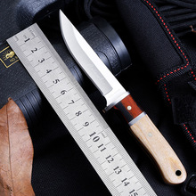 цена Tactical 56HRC High Hardness 5CR13 Blade Color Wood Handle Folding Knife Outdoor Camping Hunting Survival Tools