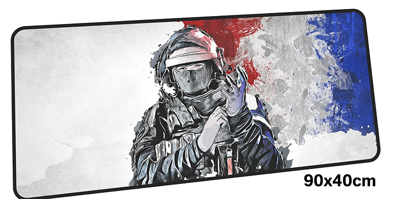rainbow six siege mousepad gamer 900x400X3MM gaming mouse pad Domineering notebook pc accessories laptop padmouse ergonomic mat