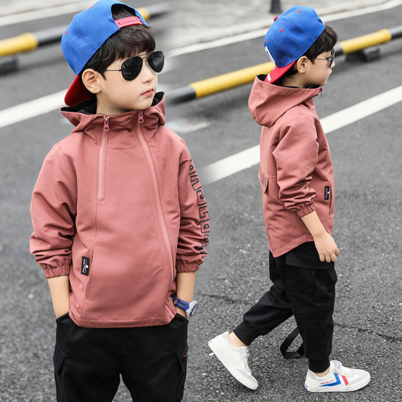 Boys clothes children spring solid jacket for teenage boys casual coat child tops 3-111 Y children active jacket baby clothing