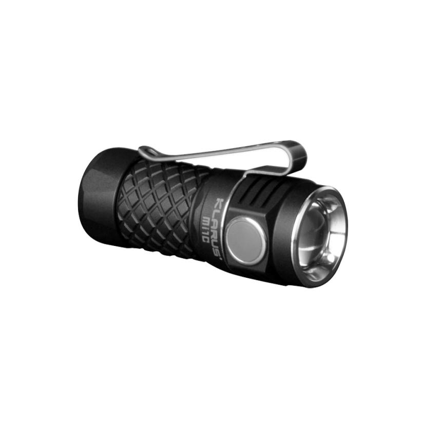 2017 NEW FREE SHIPPING KLARUS Mi1C 600LM LED Mini EDC Flashlight With 16340 Battery For Self Defens O31 new klarus xt11gt cree xhp35 hi d4 led 2000 lm 4 mode tactical led flashlight free usb port and 18650 battey for self defence