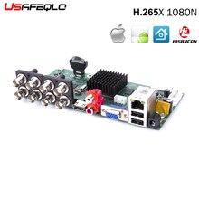 Основной PCB 8CH AHDNH 1080N DVR аналоговая IP AHD TVI CVI 5 в 1 DVR 4CH аналоговый 1080 P Поддержка 8 каналов AHD 1080N/4CH 1080 P воспроизведение