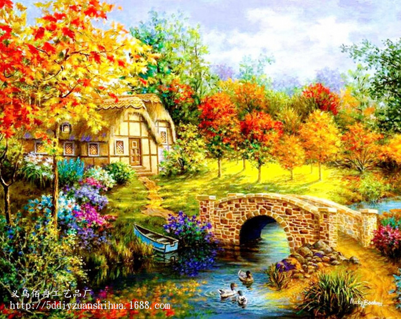 Popular Garden Paintings Buy Cheap Garden Paintings lots from