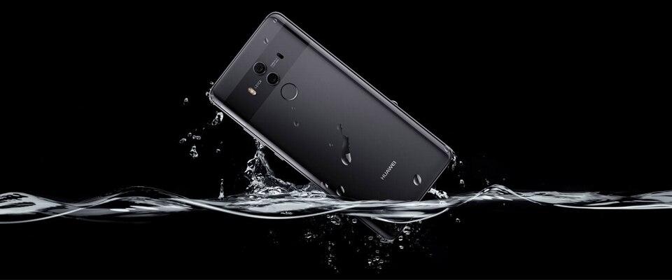 Глобальная версия huawei Коврики 10 4G B Оперативная память 6 4G B Встроенная память Octa Core 5,9 ''Kirin 970 2560x1440 4000 мАч 4G LTE 1080 P 3 камер отпечаток пальца NFC