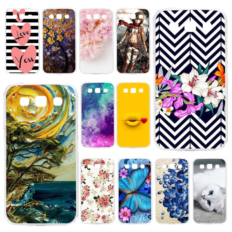 Phone Case For Samsung Galaxy Win I8552 GT-i8552 GT i8550 i8558 8552 Case Silicone  4.7 inch Soft TPU Cover Painted Bags Bumper