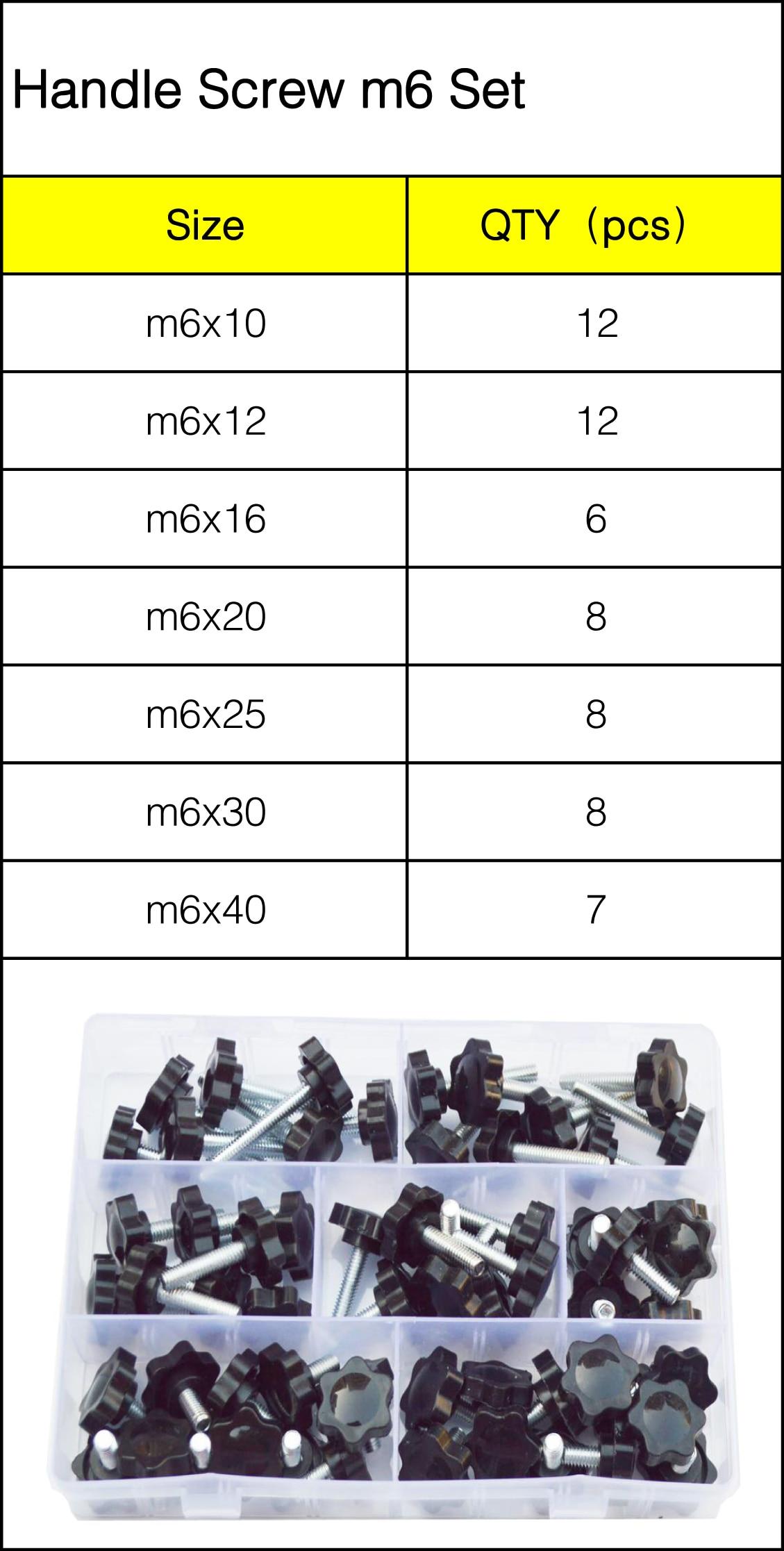 M4 Bakelite Star Stainless Screw Handle Plastic Adjustable Knob Plum Bolts Red