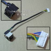Free shipping For the DELL L701X L702X notebook with a line power connector head