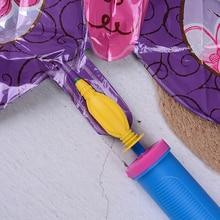 1 шт. полезный переносной шарик насос для балонов надувные игрушки и воздушный шар из фольги ручной насос