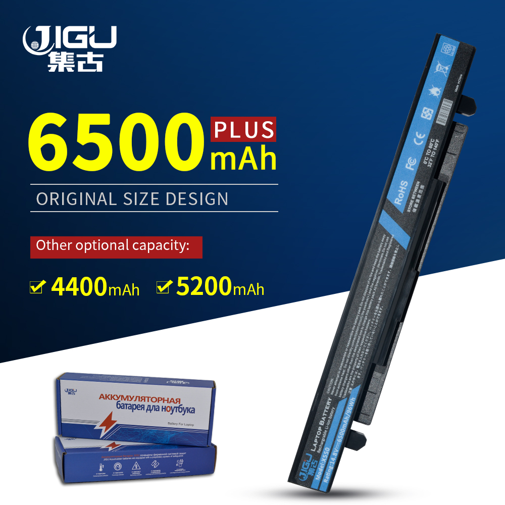 JIGU 8 תאי סוללה למחשב נייד עבור Asus A450L A450C X550C X550B X550V X550D A41-X550A A41-X550